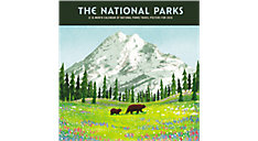 The National Parks 12x12 Monthly Wall Calendar (Item # DDW244)