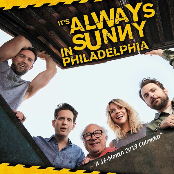 Day Dream Its Always Sunny in Philadelphia Wall Calendar - Wall Calendars