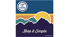 Life Is Good 12x12 Monthly Wall Calendar (Item # DDW273)