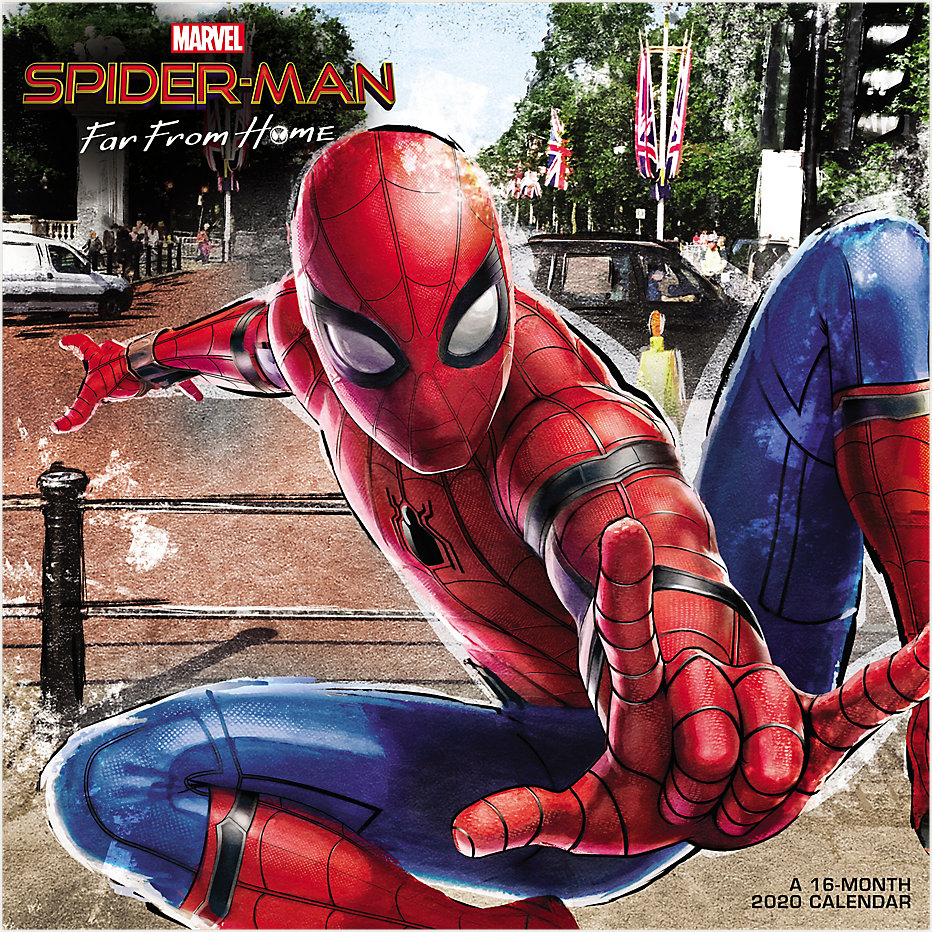 Mead MARVELS Spider-Man Far From Home 12x12 Monthly Wall Calendar