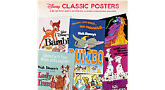 Disney Classic Posters 12x12 Monthly Wall Calendar (Item # DDW313)