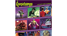 Goosebumps 12x12 Monthly Wall Calendar (Item # DDW314)