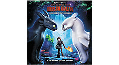 How To Train Your Dragon 3 12x12 Monthly Wall Calendar (Item # DDW320)