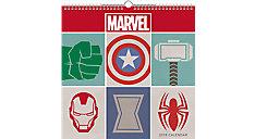 Marvel Spiral Wall Calendar (Item # DDWS03)