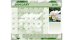 Antique Floral Monthly Desk Pad (Item # DMD135)