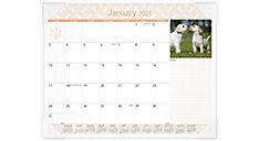 Puppies Monthly Desk Pad (Item # DMD166)