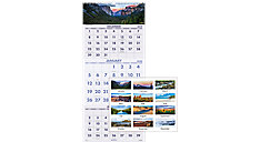 Scenic 3-Month Wall Calendar (Item # DMW503)