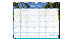 Tropical Escape Wall Calendar (Item # DMWTE8)