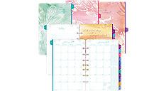 Kathy Davis Seascapes 2-Page-Per-Month Planner Refill Desk Size (Item # DT72132)