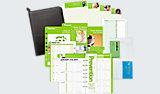 Prevention 2-Page-Per-Week Set Desk Size ( # DTP601)