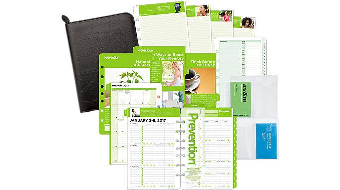 Day-Timer Prevention 2-Page-Per-Week Set Desk Size  (DTP601)