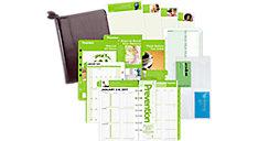 Prevention 2-Page-Per-Week Set Desk Size (Item # DTP602)