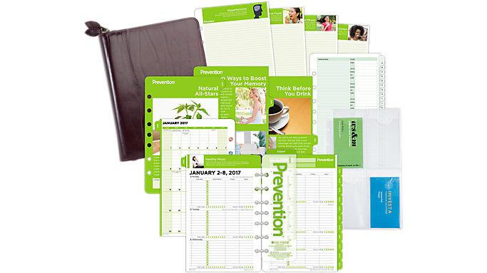 Day-Timer Prevention 2-Page-Per-Week Set Desk Size  (DTP602)