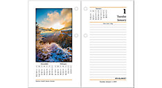 Daily Photographic Desk Calendar Refill (Item # E417)