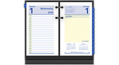QuickNotes Daily Desk Calendar Refill (Item # E517)