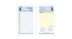 QuickNotes Daily Loose-Leaf Desk Calendar Refill (Item # E517)
