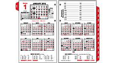 Burkharts Day Counter Desk Calendar Refill (Item # E712)