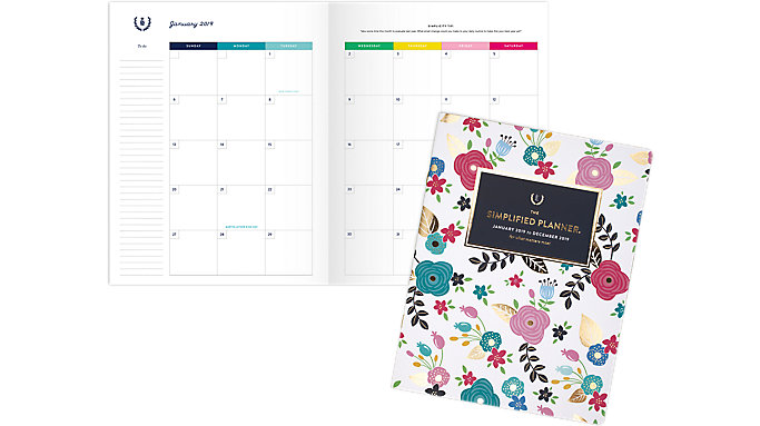 Emily Ley Monthly Large Planner  (EL100-091)