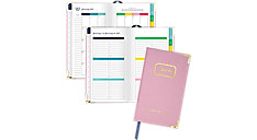 Weekly-Monthly Small Hardcover Planner (Item # EL100-203)