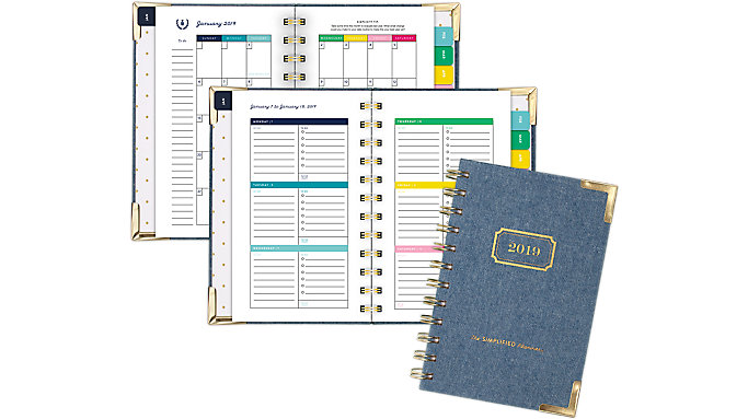 Emily Ley Weekly-Monthly Pocket Hardcover Planner  (EL100-300)