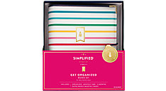 Simplified System Weekly-Monthly Organizer Gift Set Desk Size (Item # EL100-411)