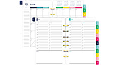 Simplified System Undated 1-Page-Per-Day Refill Desk Size (Item # EL100-4301)