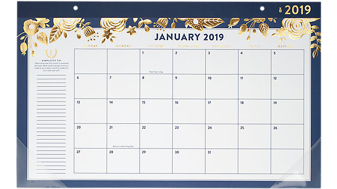 Emily Ley Compact Monthly Desk Pad  (EL100-705)