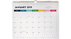 Monthly Wall Calendar (Item # EL100-707)