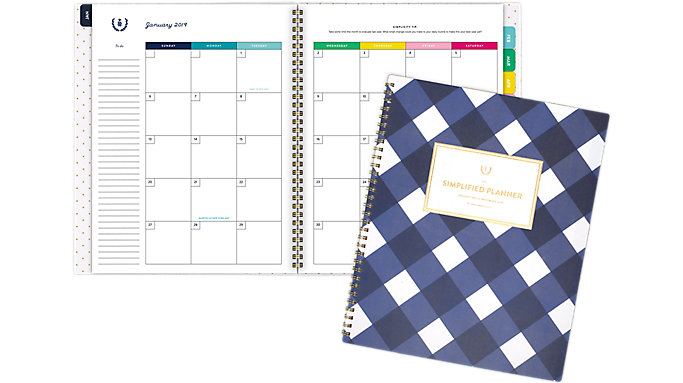 Emily Ley Monthly Large Planner  (EL100-900)