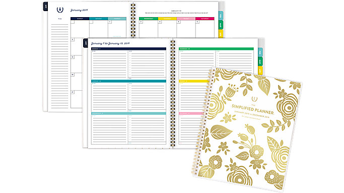 Emily Ley Customizable Weekly-Monthly Large Planner  (EL100-901)