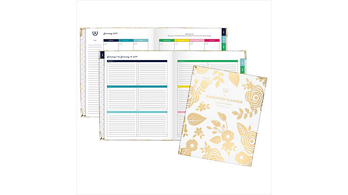 Emily Ley Weekly-Monthly Large Hardcover Planner  (EL100-903)