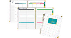 Weekly-Monthly Large Hardcover Planner (Item # EL100-905)