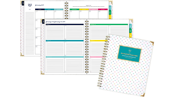 Emily Ley Weekly-Monthly Large Hardcover Planner  (EL100-905)