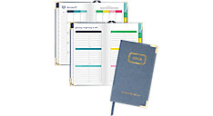 Weekly-Monthly Small Hardcover Planner (Item # EL101-203)