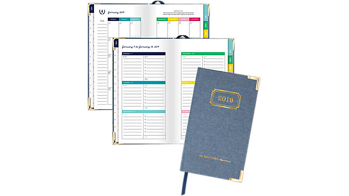 Emily Ley Weekly-Monthly Small Hardcover Planner  (EL101-203)