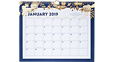 Monthly Wall Calendar (Item # EL101-707)