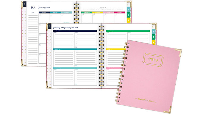 Emily Ley Weekly-Monthly Hardcover Planner with Bungee  (EL101-805)