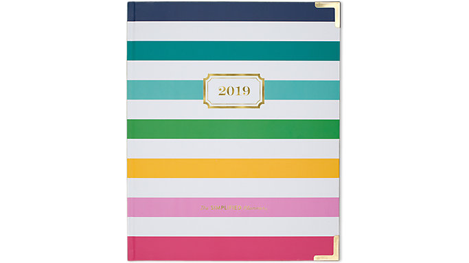 Emily Ley Weekly-Monthly Large Hardcover Planner  (EL101-903)