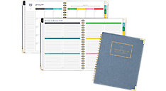 Weekly-Monthly Large Hardcover Planner (Item # EL102-905)