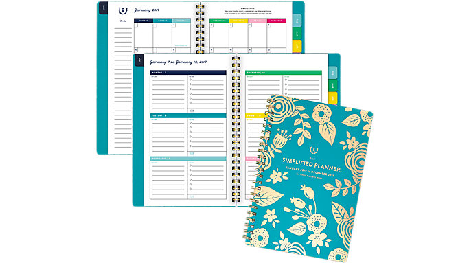Emily Ley Weekly-Monthly Small Planner  (EL103-200)