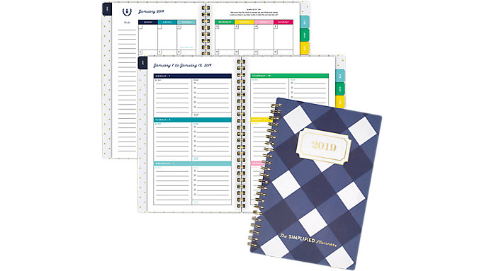 Emily Ley Weekly-Monthly Small Planner  (EL104-200)