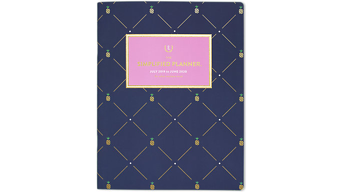 Emily Ley Simplified Academic Monthly Large Planner  (EL200-091A)