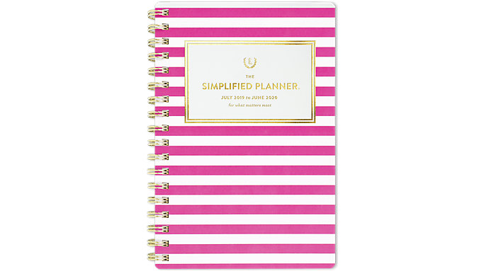 photograph regarding Emily Ley Planners identify Emily Ley Simplified Instructional Weekly-Regular Pocket Planner