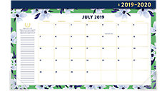 Simplified Academic Compact Monthly Desk Pad Calendar (Item # EL200-705A)