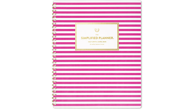 Emily Ley Simplified Academic Monthly Large Planner  (EL200-900A)