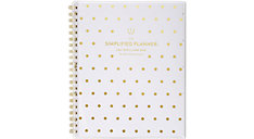 Simplified Customizable Academic Weekly-Monthly Large Planner (Item # EL200-901A)