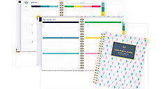 Simplified Academic Weekly-Monthly Hardcover Large Planner (Item # EL200-905A)