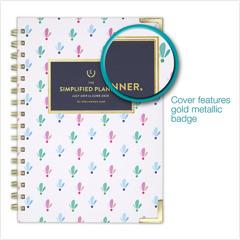 photo regarding Simplified Planner known as Emily Ley Simplified Instructional Weekly-Every month Hardcover Medium Planner