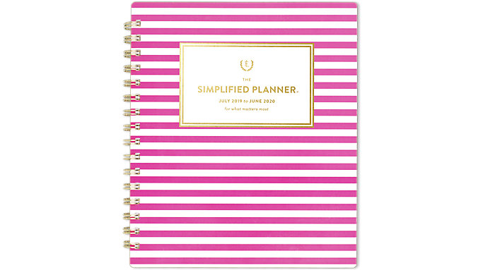 Emily Ley Simplified Academic Weekly-Monthly Medium Planner  (EL201-805A)