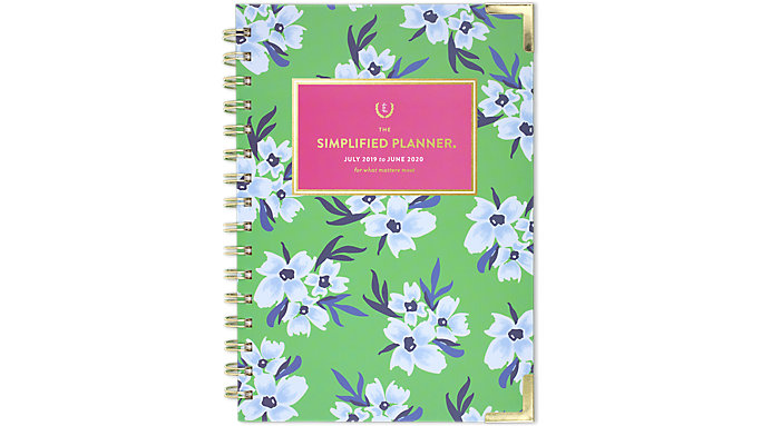 Emily Ley Simplified Academic Weekly-Monthly Hardcover Medium Planner  (EL202-200A)